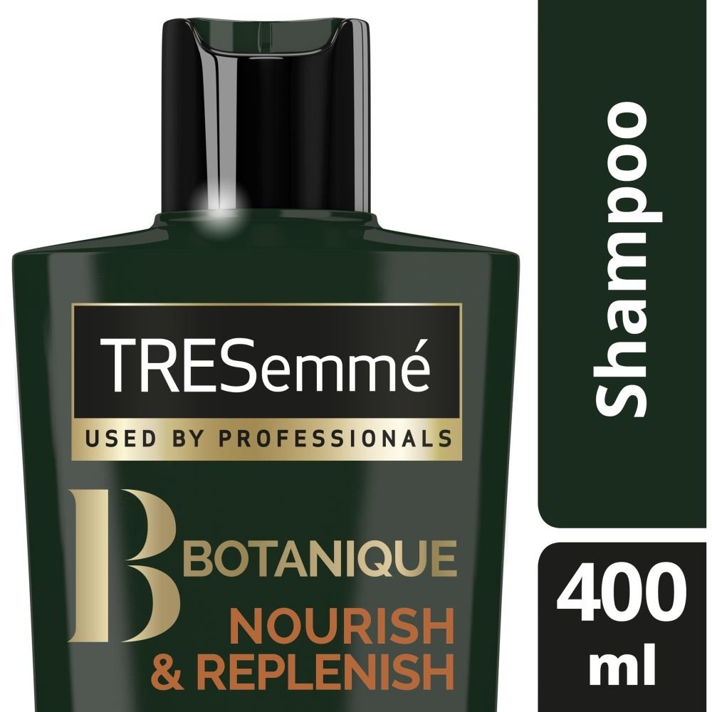 TRESemme Botanique Nourish & Replenish Shampoo Pack of 2 & Conditioner Pack of 2, 400ml