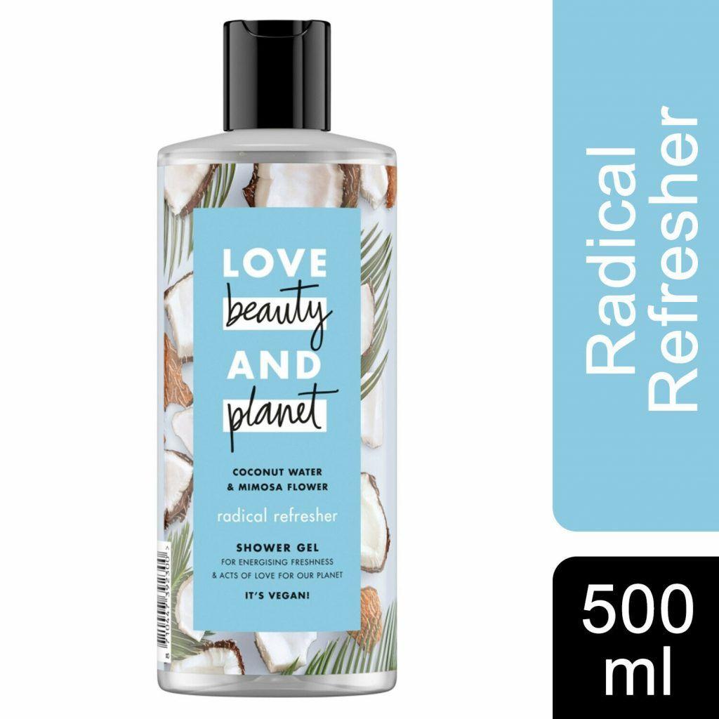 Love Beauty & Planet Coconut Water & Mimosa Flower Bath & Hair Combo