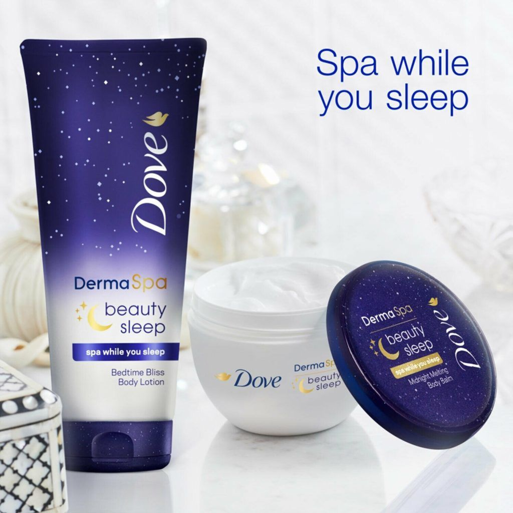 Dove Derma Spa Beauty Sleep Bedtime Bliss Body Lotion 6 x 200ml