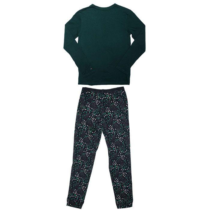Boys' Tommy Hilfiger Junior Glow Pyjamas Set in Green