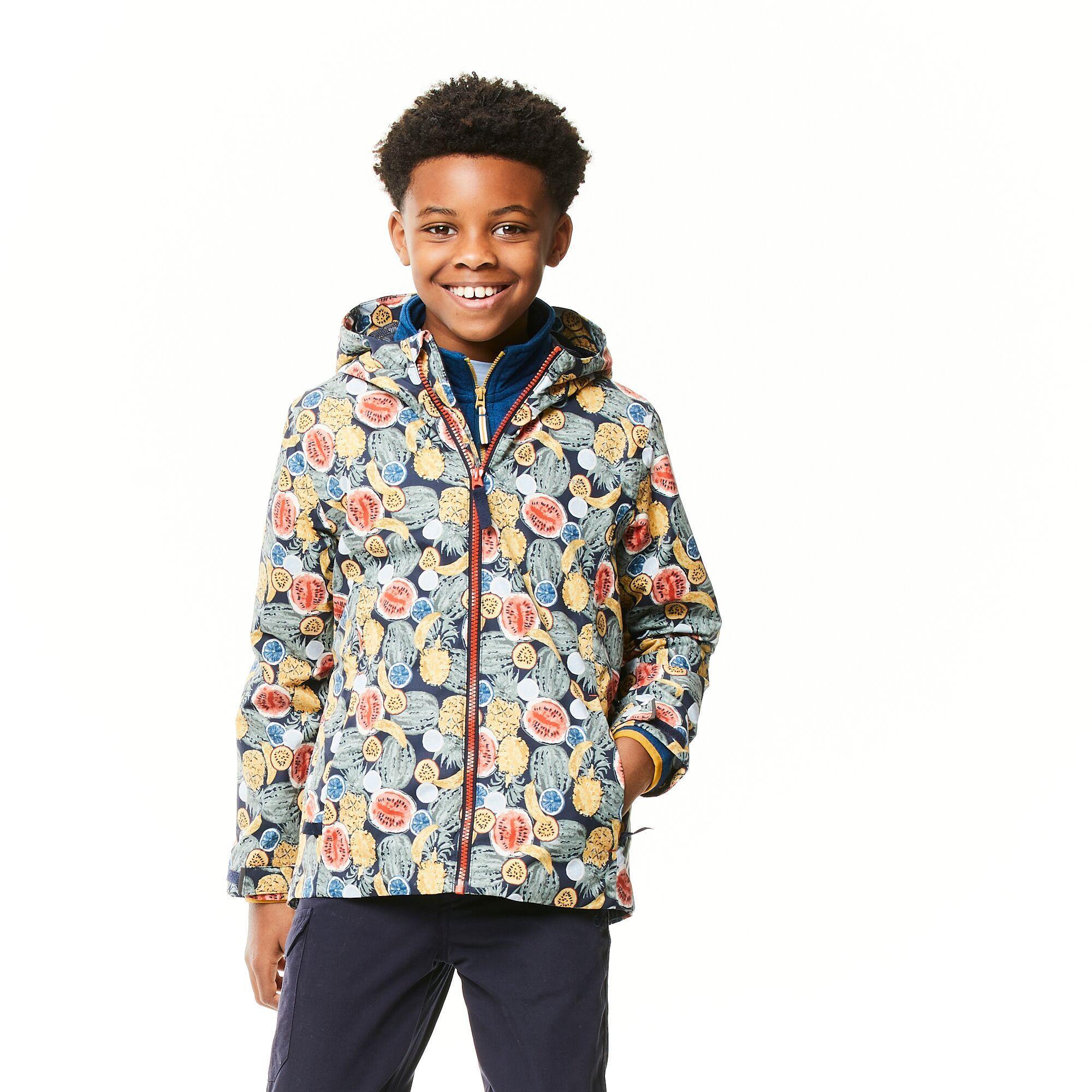 Craghoppers Childrens/Kids Landry Fruit Jacket (Multicoloured)