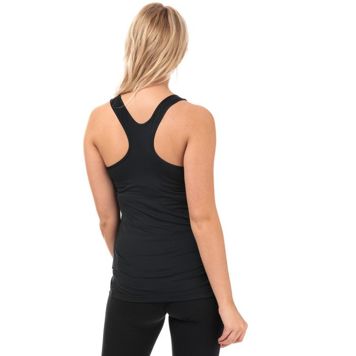 Women's Nike Victory Training Tank in Black-White
