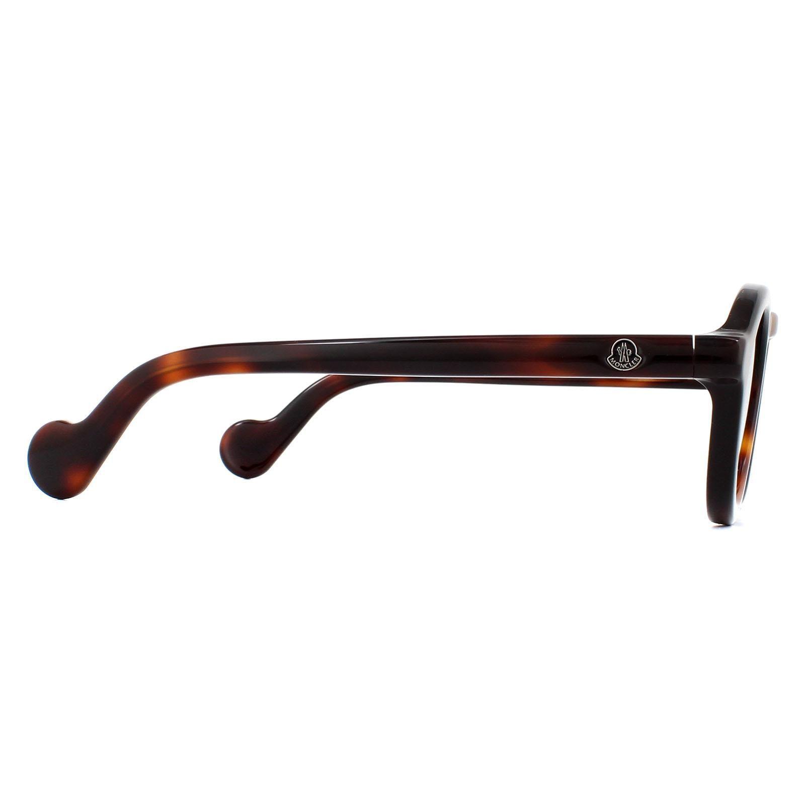 Moncler Sunglasses ML0042 52C Dark Havana Smoke Mirror