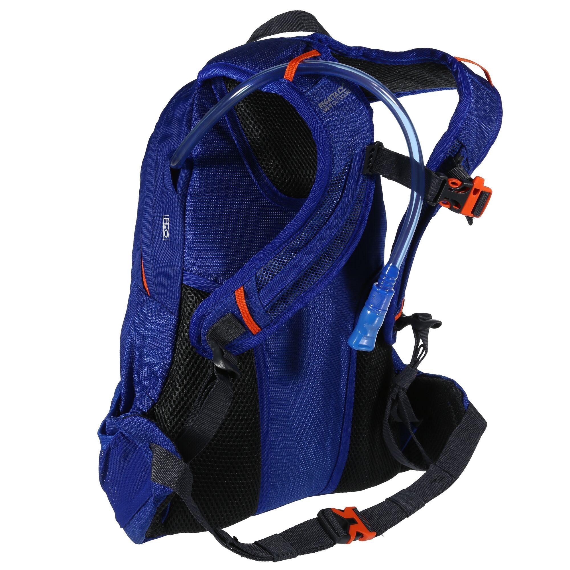 Regatta Blackfell III 20L Hydropack Rucksack (Surfspray Blue/Blaze Orange)