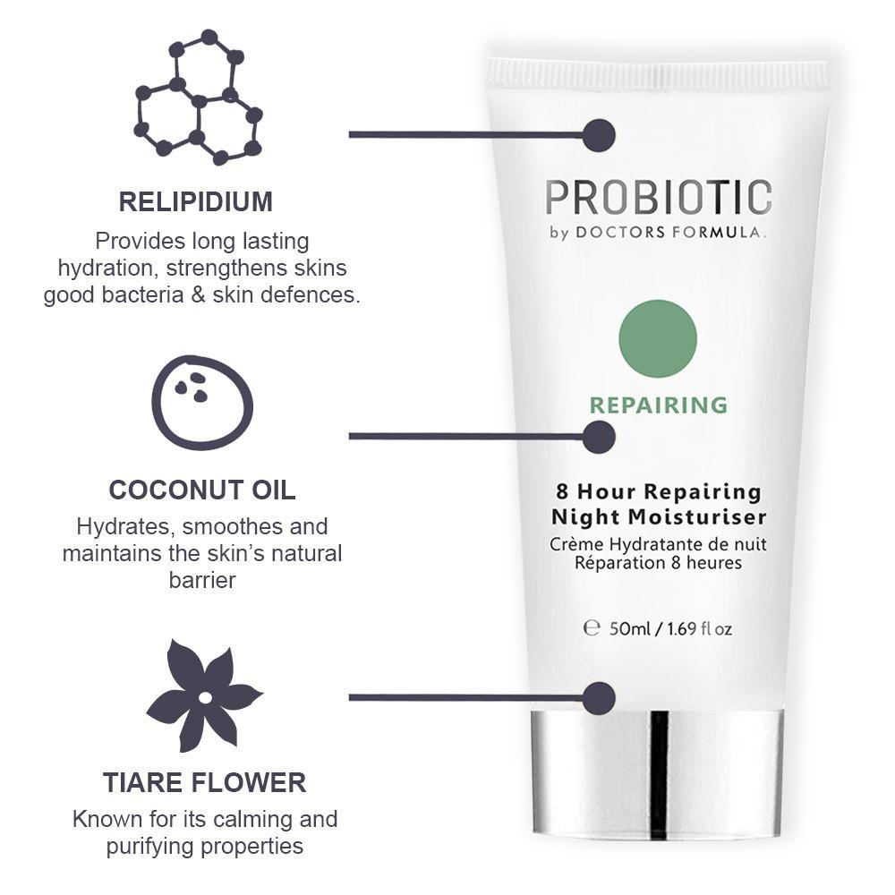 Doctors Formula Probiotic 8 Hour Repairing Night Moisturiser 50ml