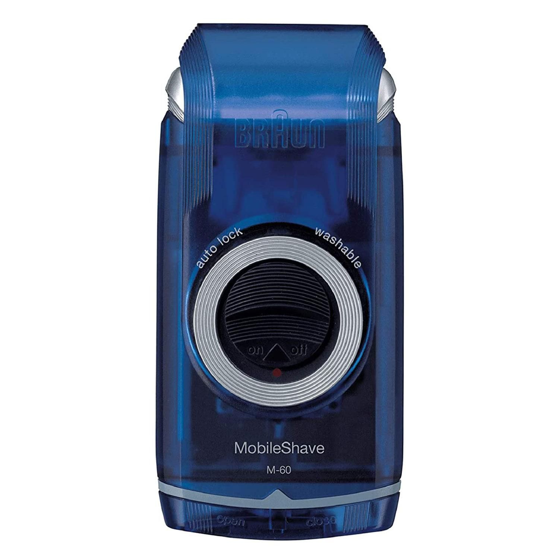 Braun Pocket Go M60B MobileShave Portable Grooming Shaver