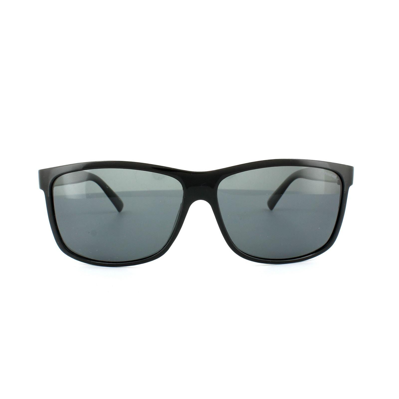Polaroid Sunglasses 3010/S D28 Y2 Black Grey Polarized