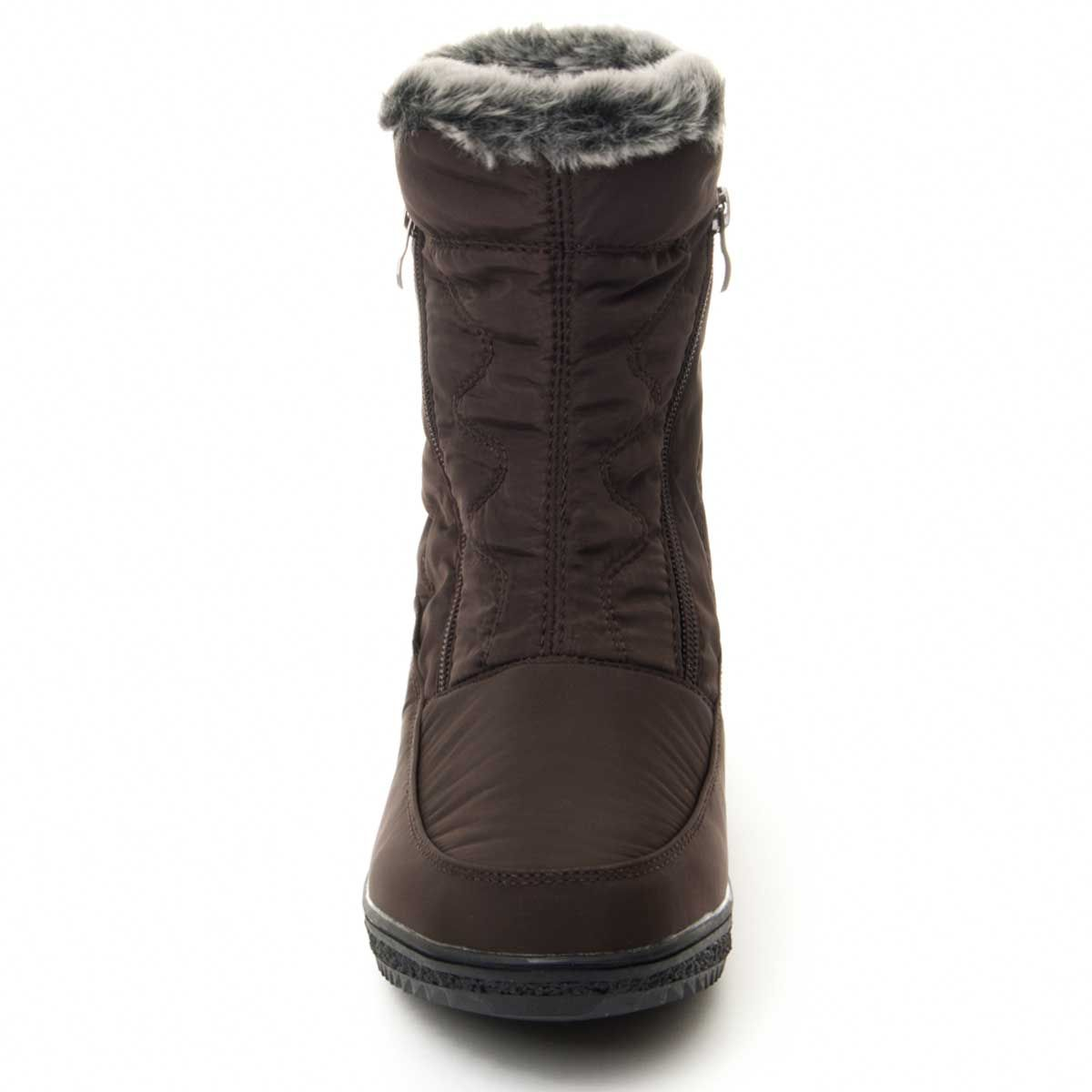 Montevita Winter Ankle Boot in Brown