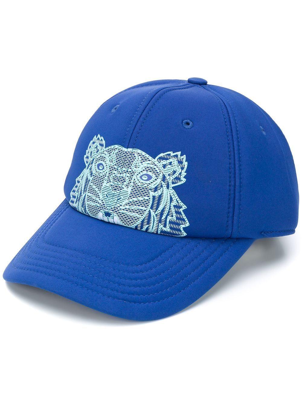 KENZO MEN'S FA55AC301F2276 BLUE POLYESTER HAT