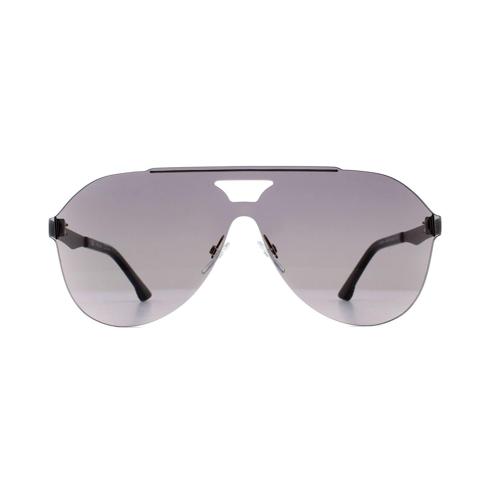 Police Sunglasses SPL339 Flow 1 0531 Matte Black Smoke Grey Gradient