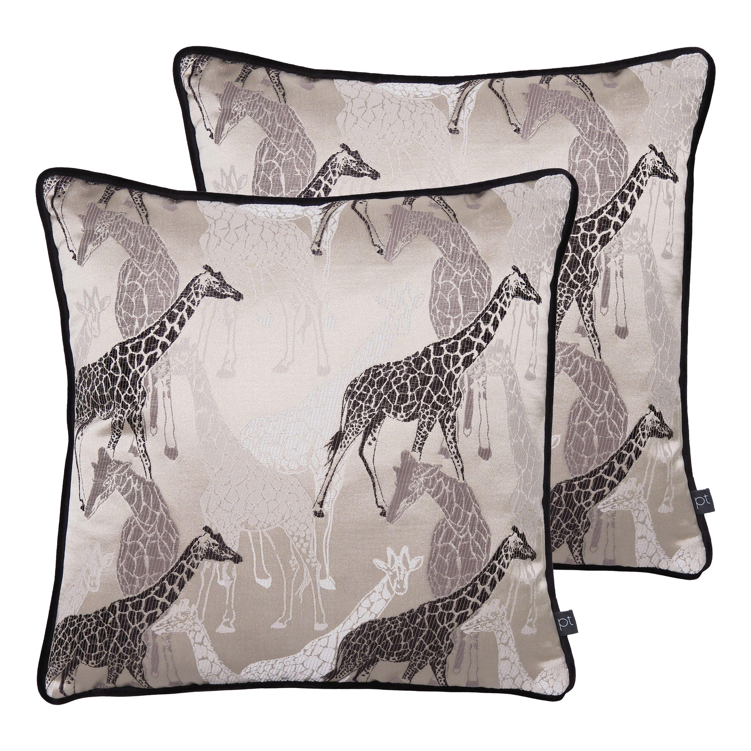 Giraffe Cushions (Twin Pack)