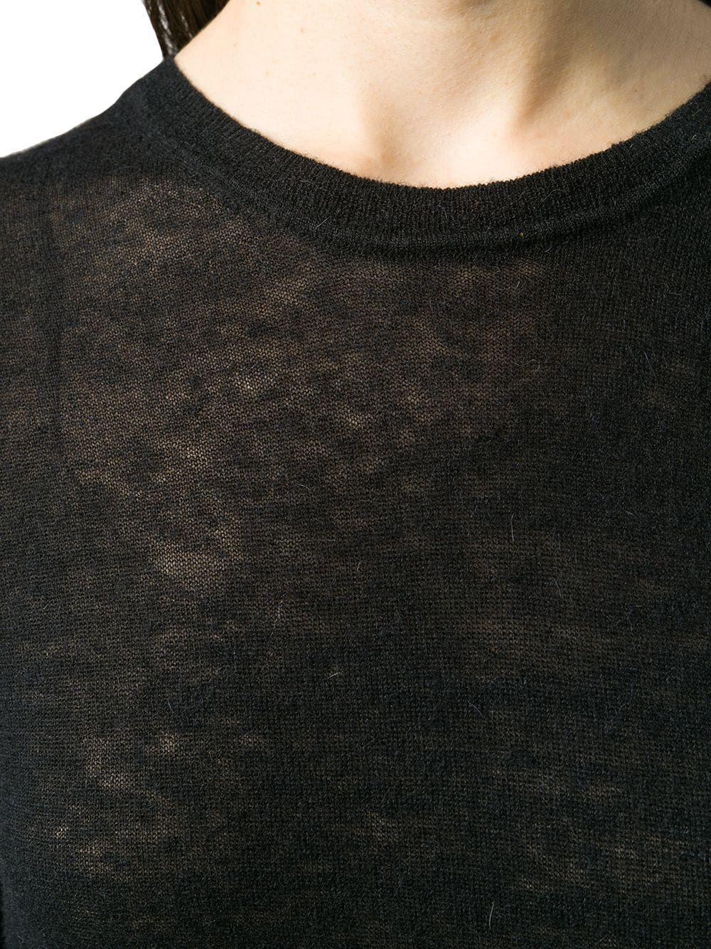 ISABEL MARANT ÉTOILE WOMEN'S PU103519A051E01BK BLACK POLYAMIDE SWEATER