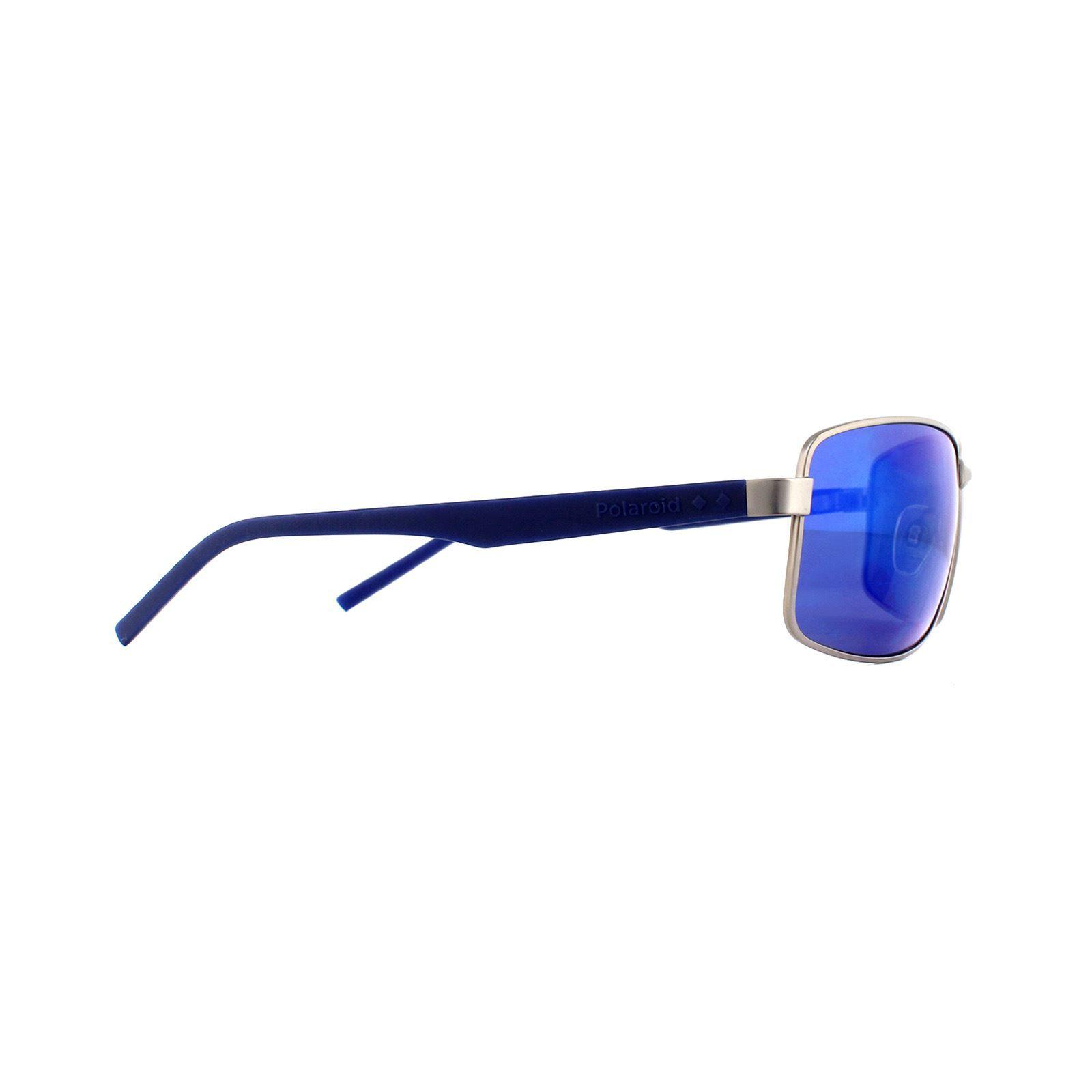 Polaroid Sunglasses 2045/S R80 5X Ruthenium Blue Blue Polarized