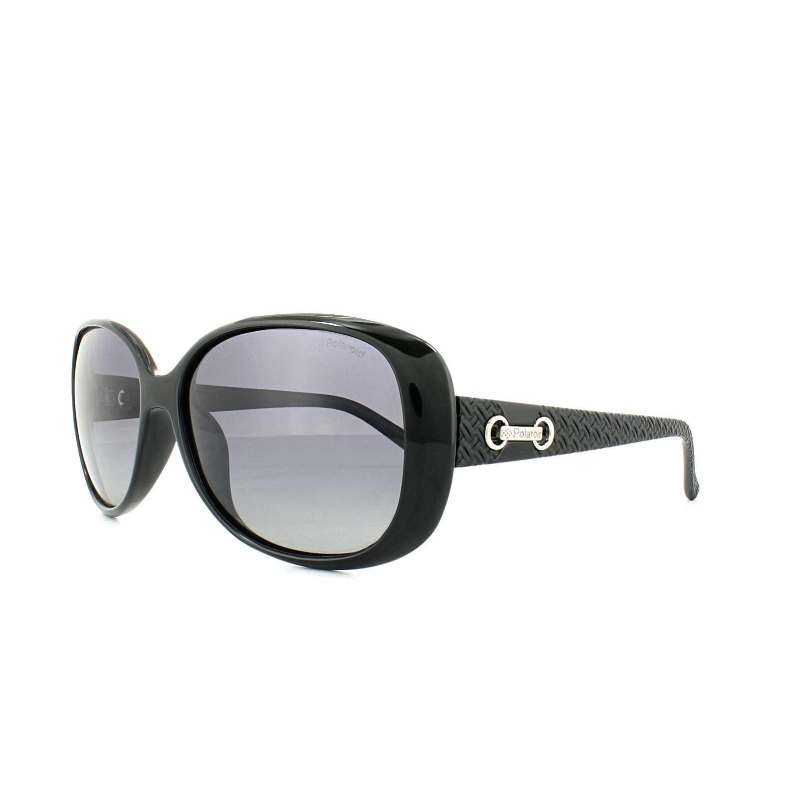 Polaroid Sunglasses P8430 KIH IX Black Grey Gradient Polarized