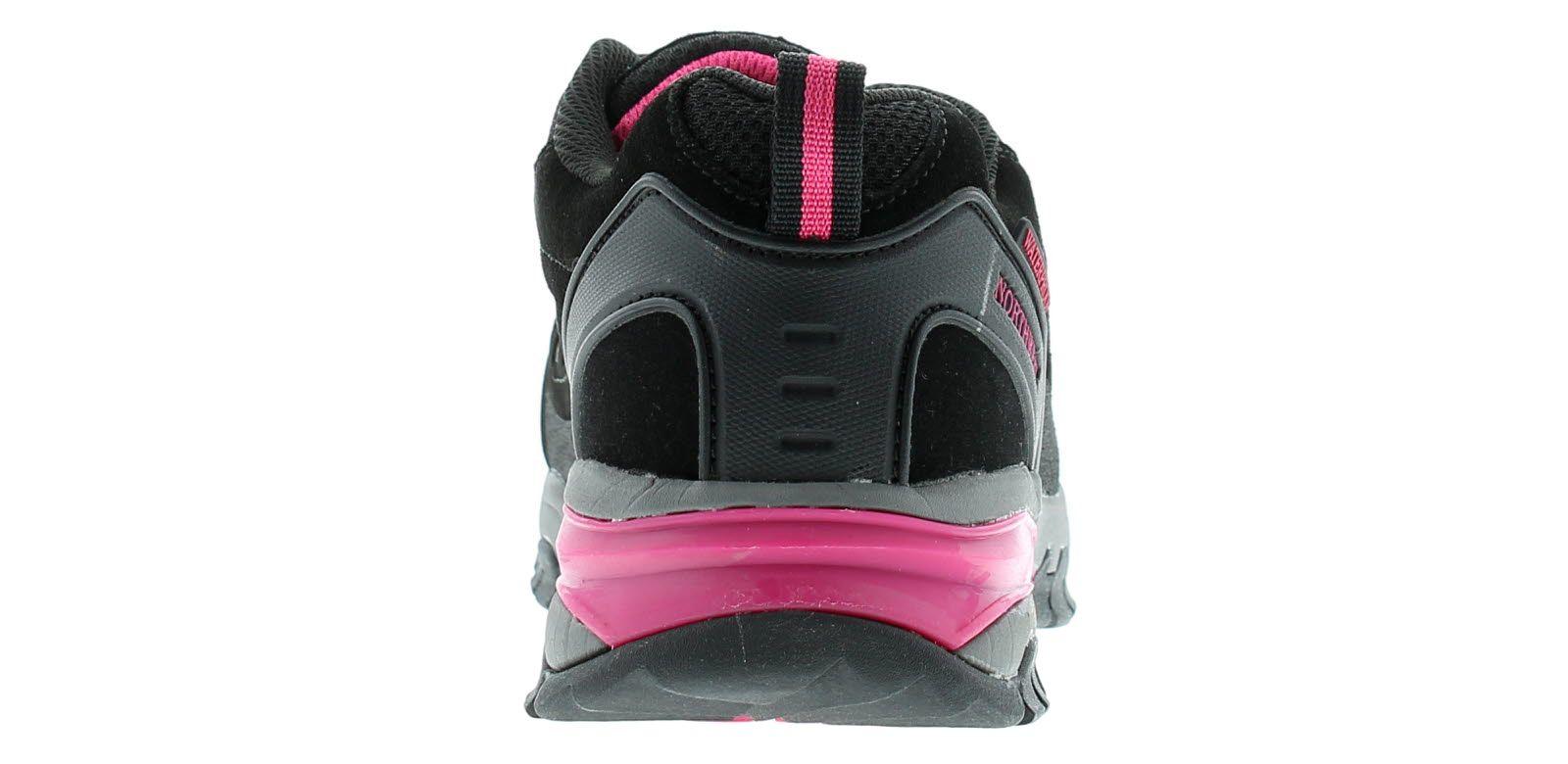Northwest Territory keele lo leather Womens Waterproof Walking Boots black