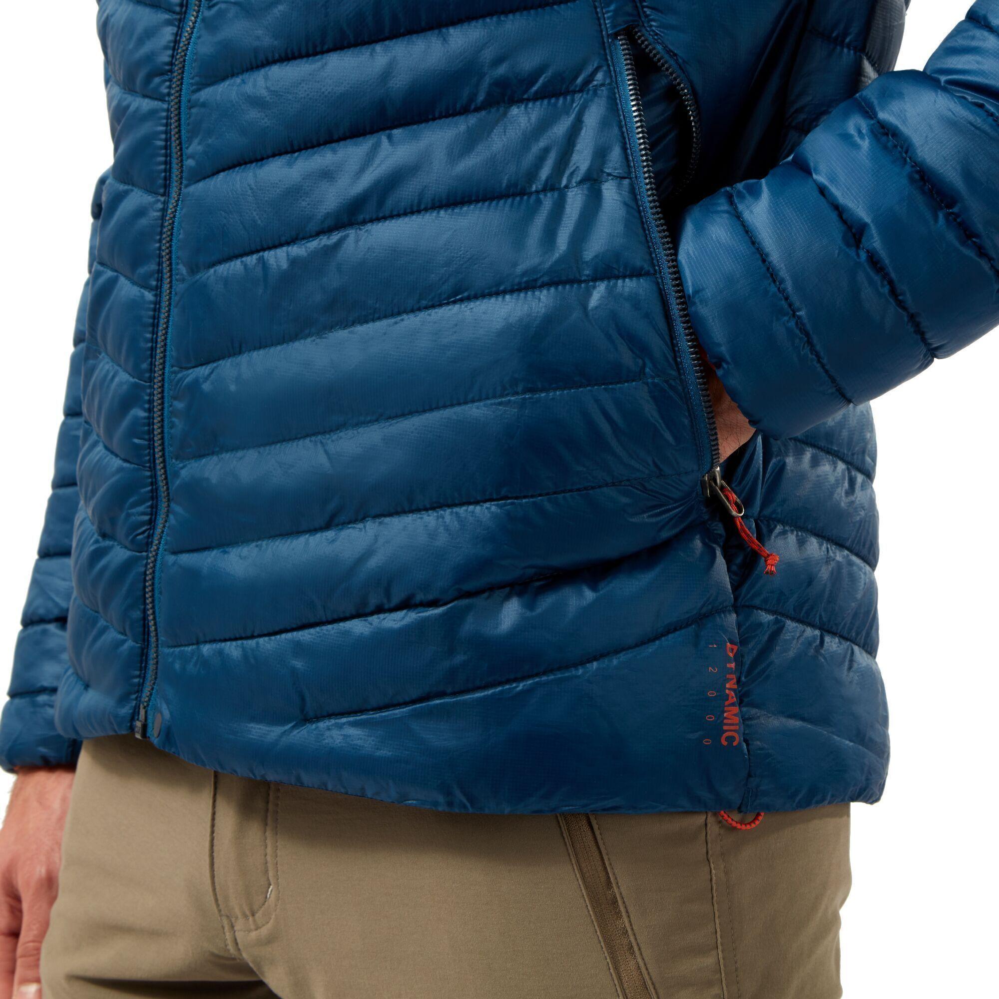 Craghoppers Mens Expolite Padded Jacket (Poseidon Blue)