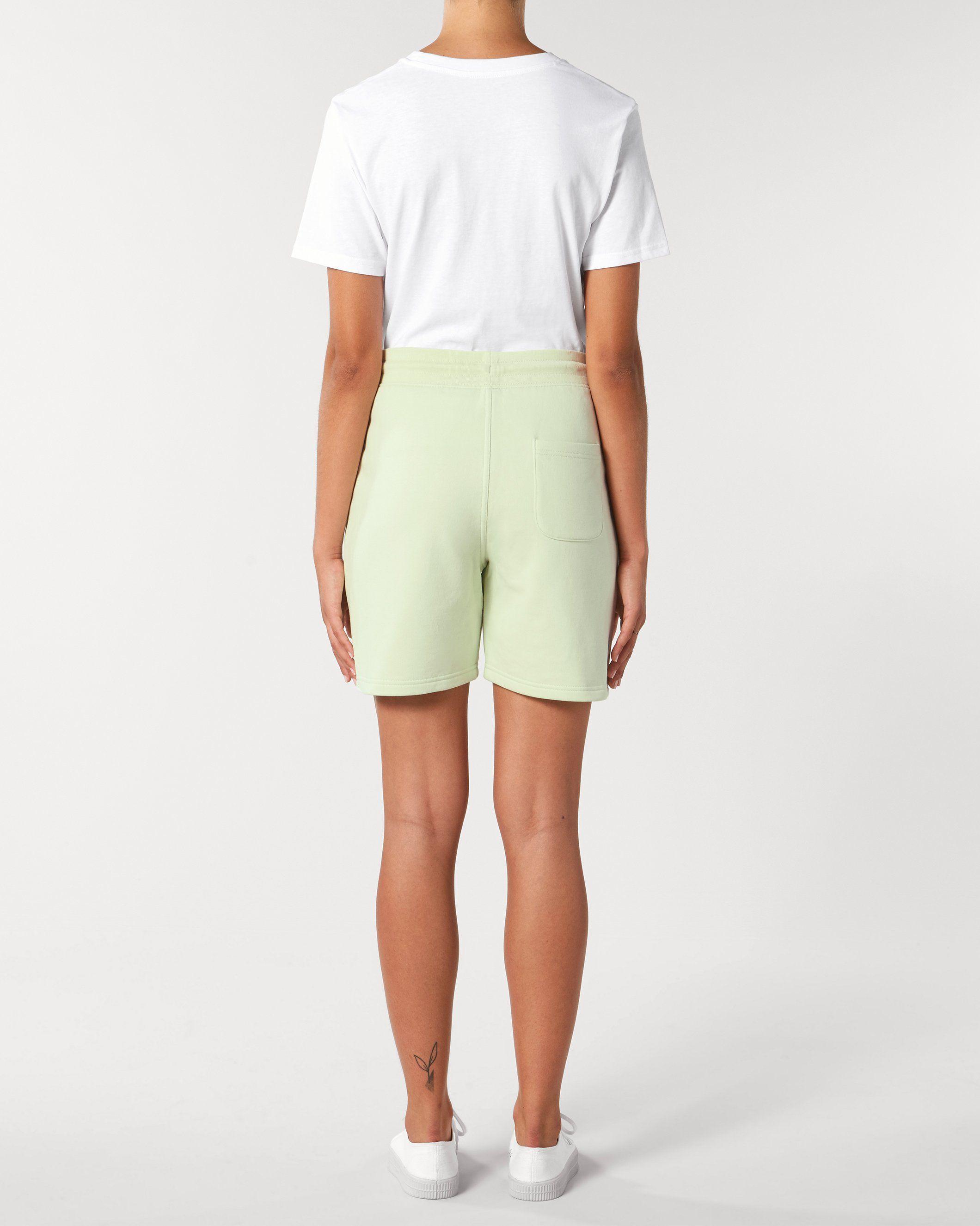 Vayu Unisex Jogger Shorts in Green