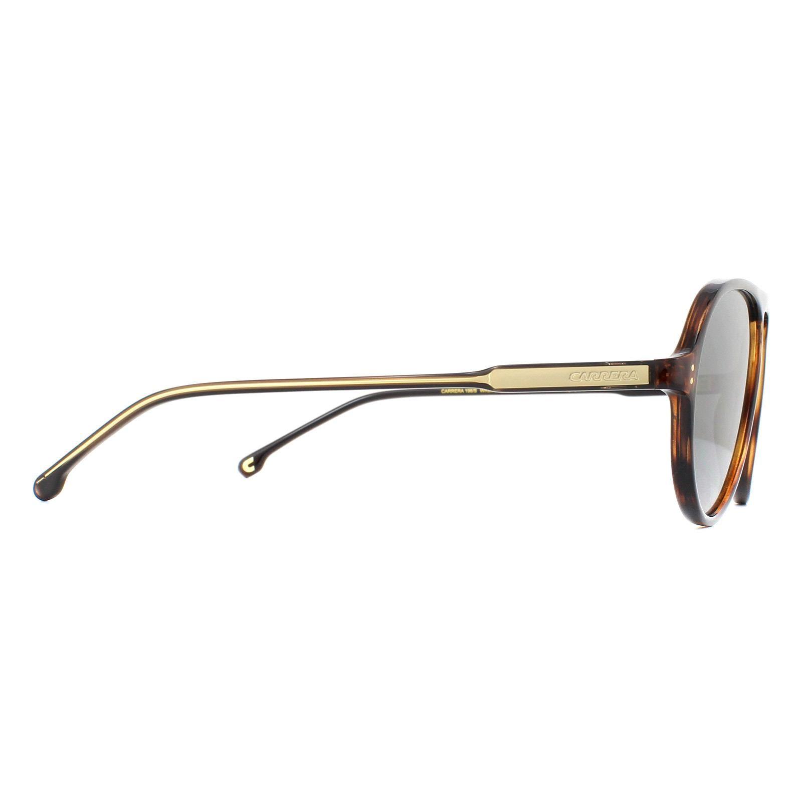 Carrera Sunglasses Carrera 198/S WR9 M9 Havana Crystal Dark Grey Gradient