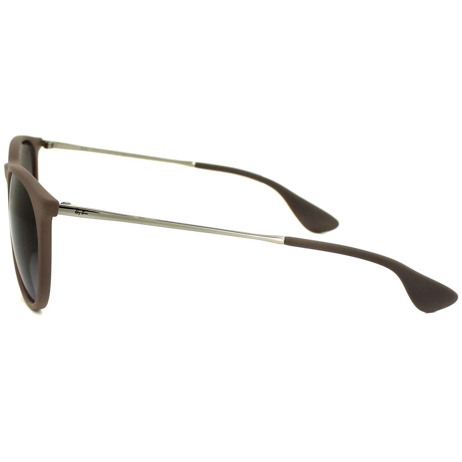 Ray-Ban Sunglasses Erika 4171 600068 Dark Rubber Sand Brown Gradient