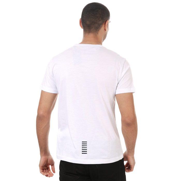 Men's Emporio Armani EA7 Core ID T-Shirt in White