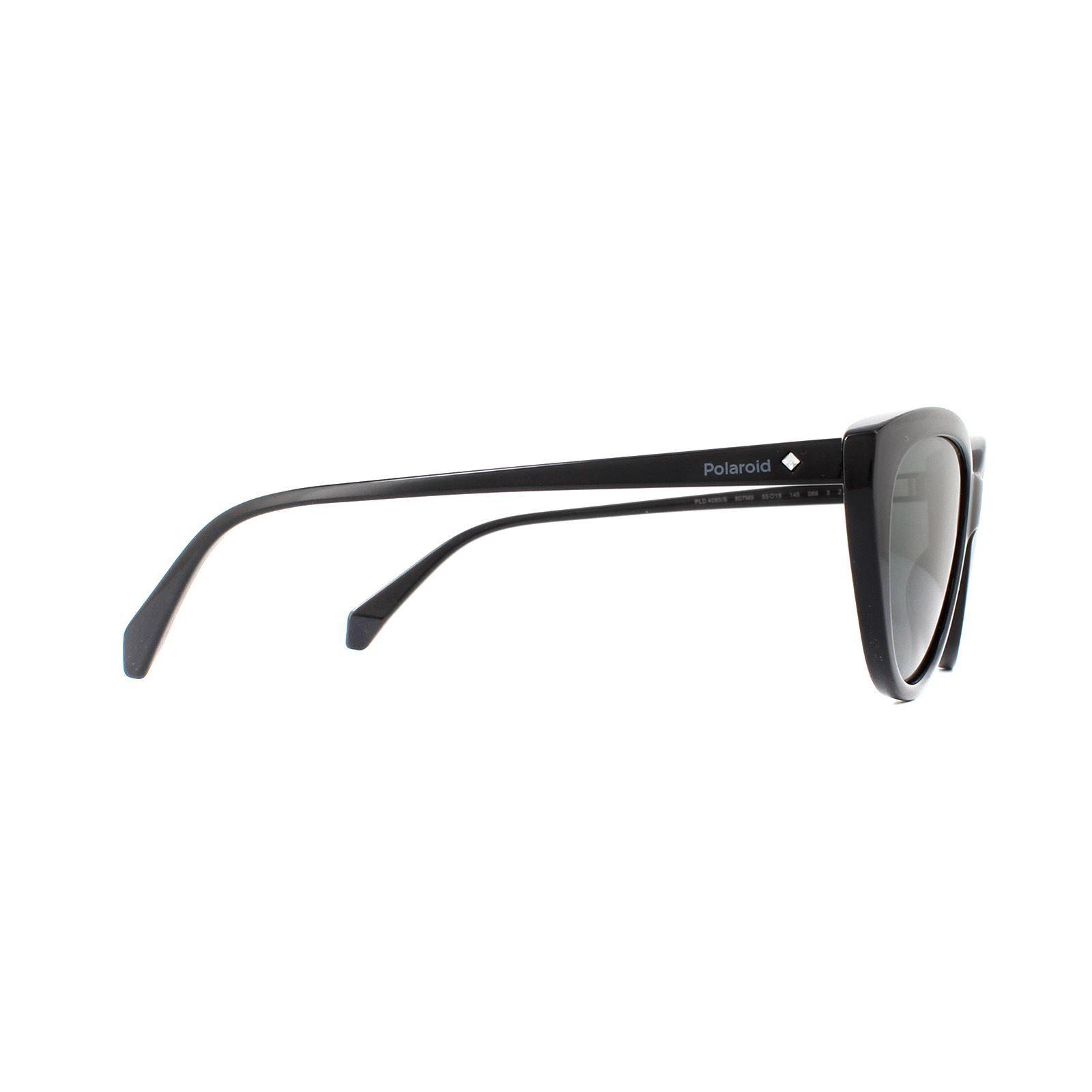 Polaroid Sunglasses PLD 4080/S 807 M9 Black Grey Polarized