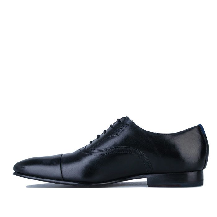 Men's Ted Baker Murlain Leather Oxford Shoes in Black