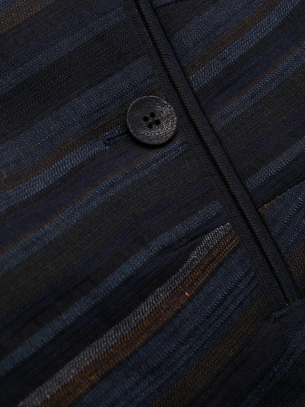 ETRO MEN'S 1W5001171200 BLUE LINEN PANTS