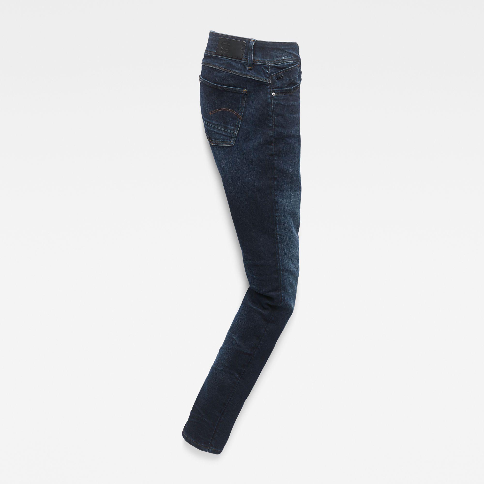 G-Star RAW Lynn Zipper Mid Waist Skinny Jeans