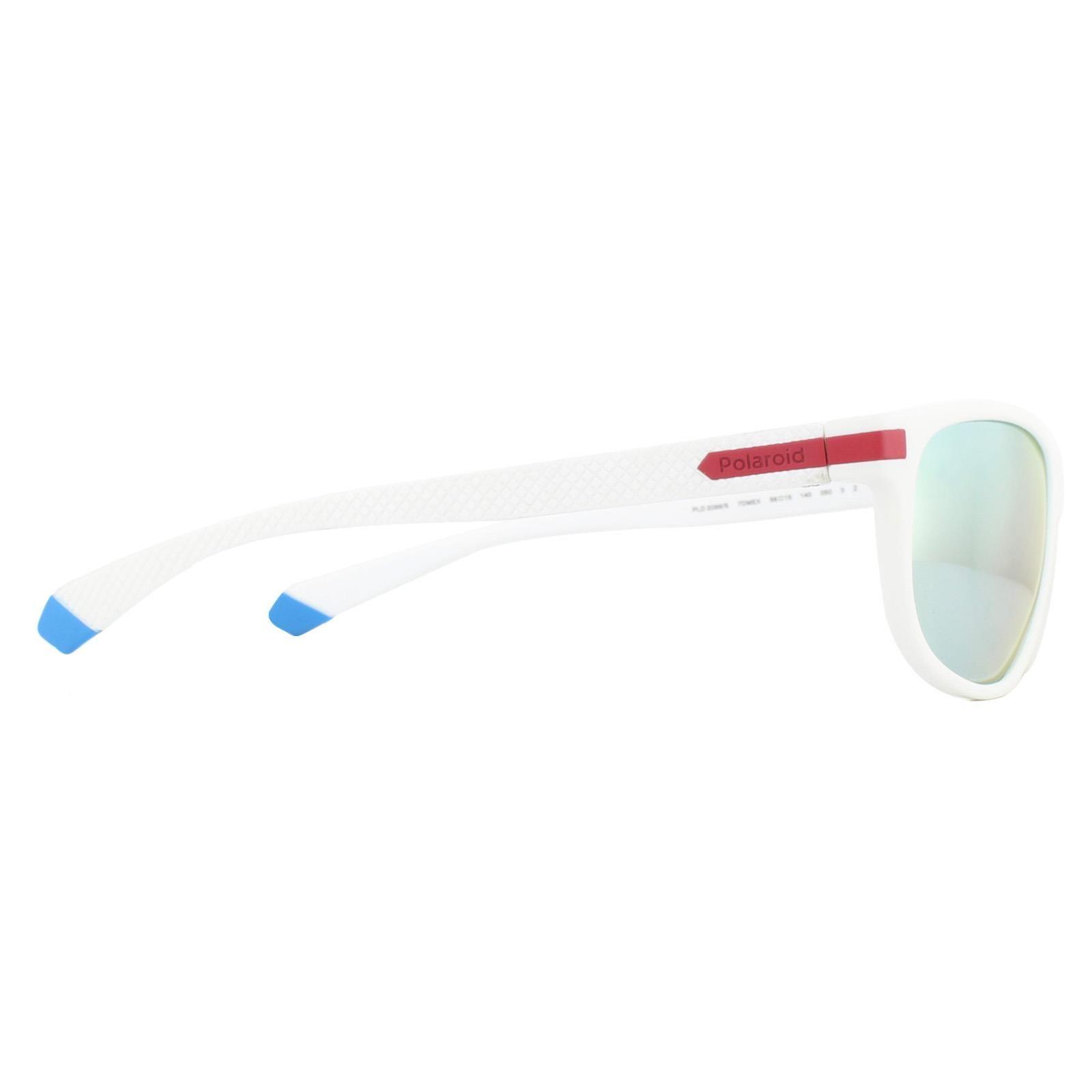 Polaroid Sunglasses PLD 2099/S 7DM EX White Red Silver Mirror Polarized