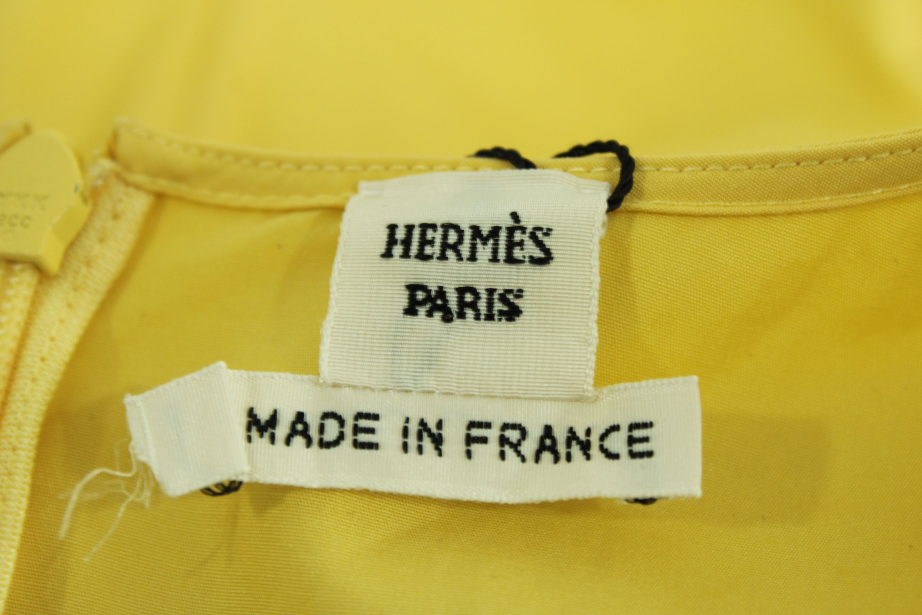 Hermès Cotton Top -Pre Owned Condition Good