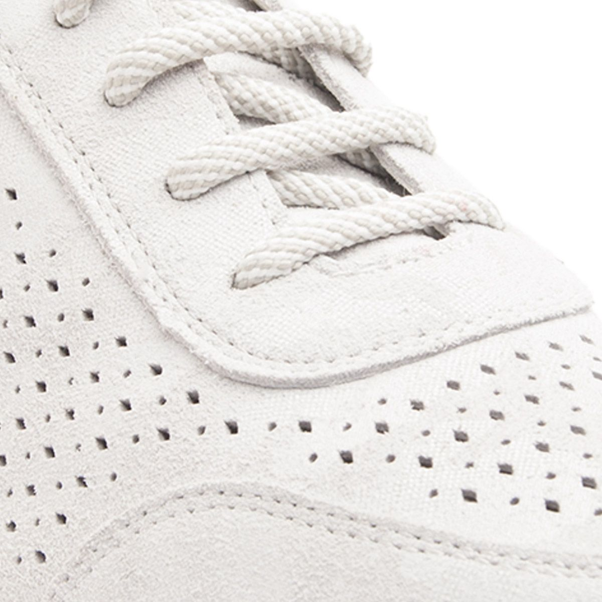 Montevita Laser Cut Sneaker in Grey