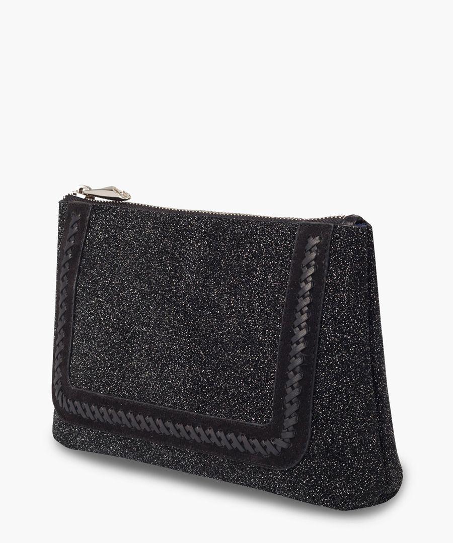 The Large Mercury black embellished bag