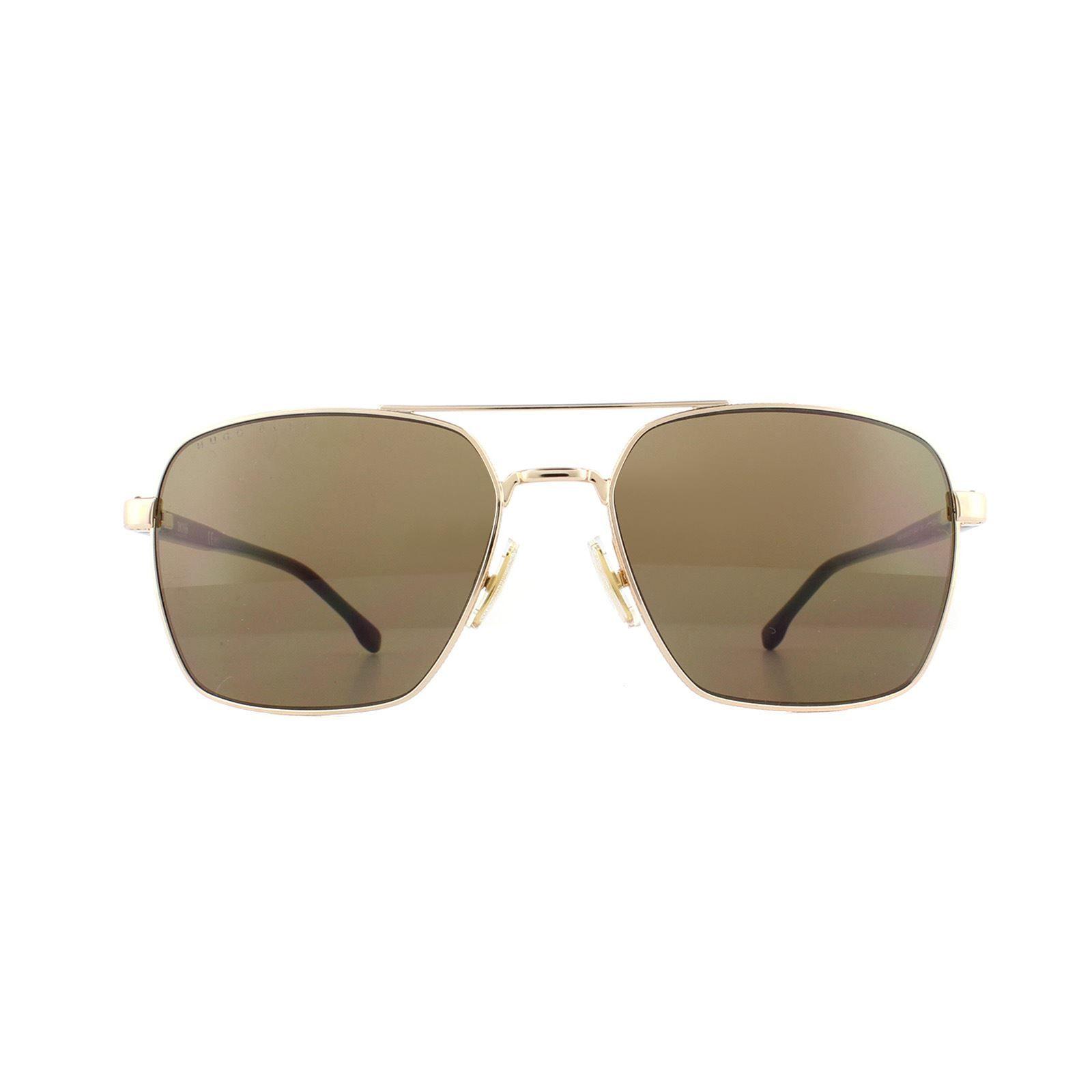 Hugo Boss Sunglasses 1045/S 000 70 Rose Gold Brown Gradient
