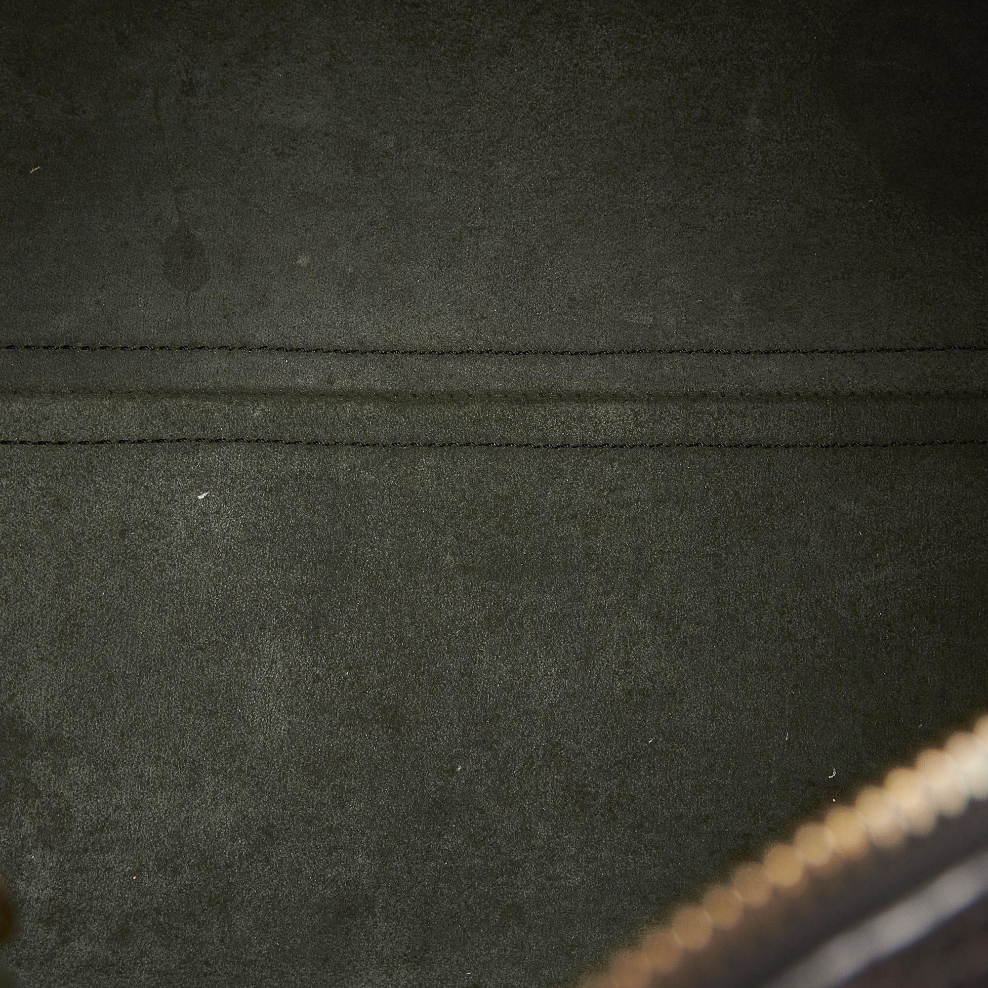 Vintage Louis Vuitton Epi Speedy 30 Black