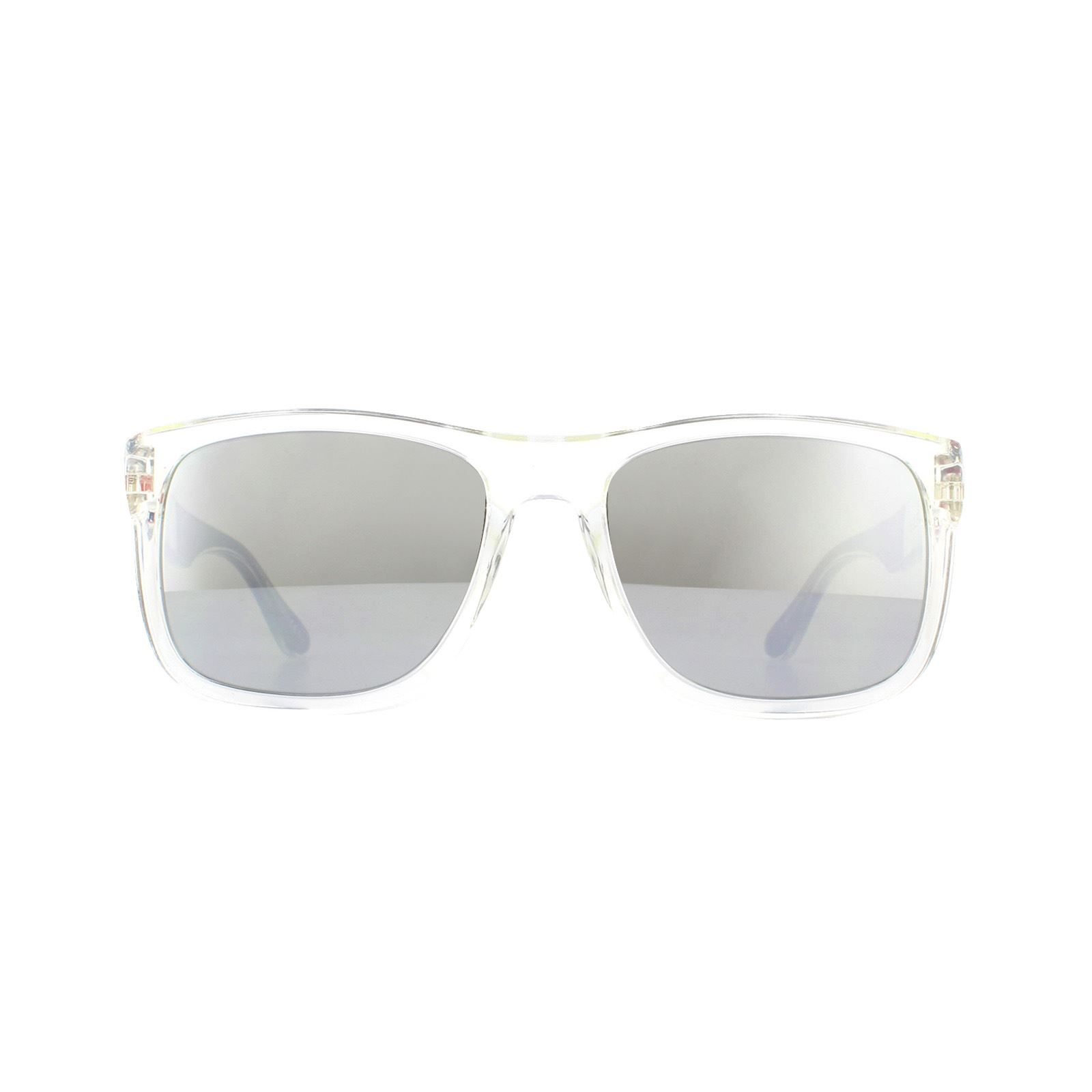 Tommy Hilfiger Sunglasses TH 1556/S HKT T4 Crystal Silver Mirror