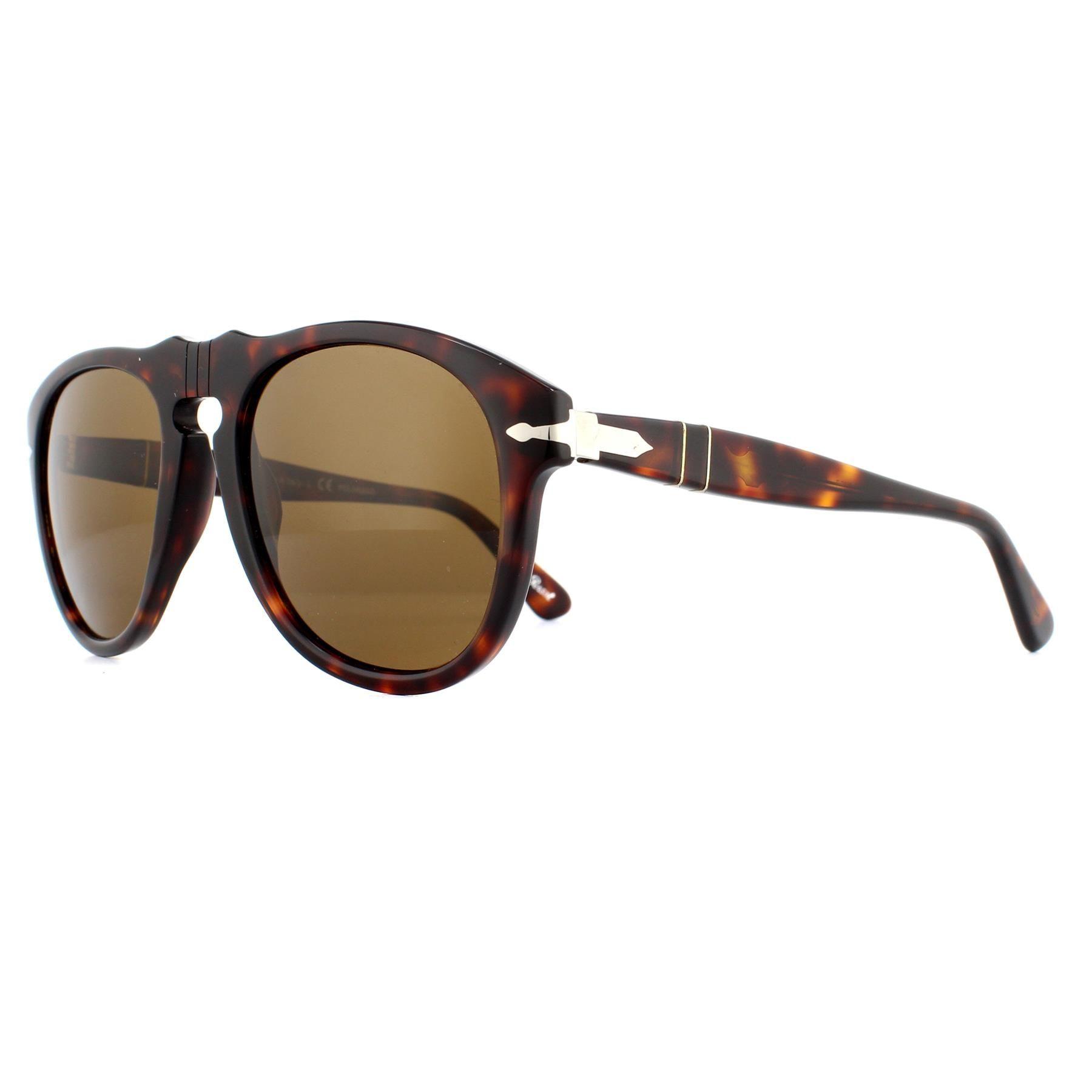 Persol Sunglasses 0649 24/57 Havana Brown Polarized Steve McQueen 54mm