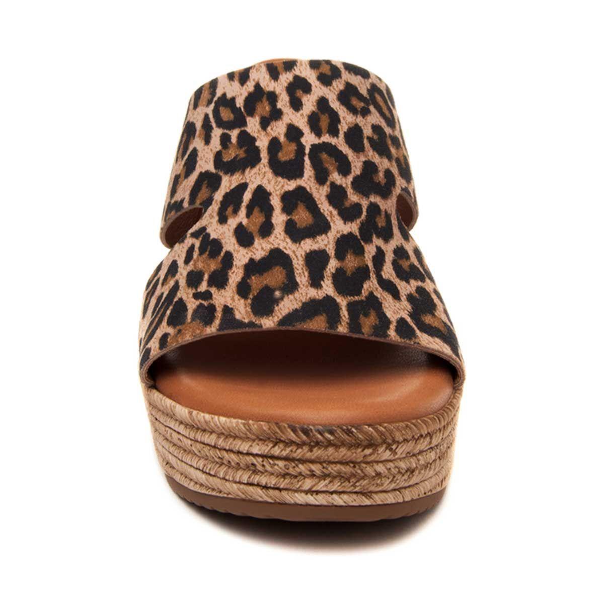 Montevita Platform Sandal in Brown