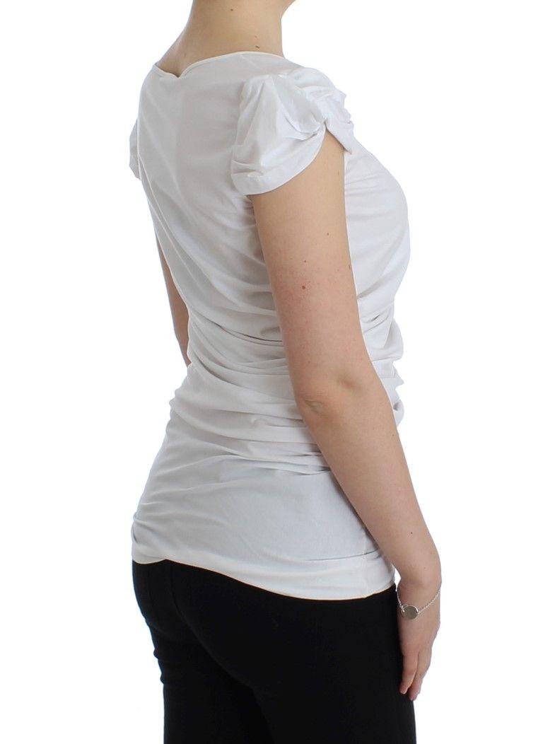Cavalli White cotton top