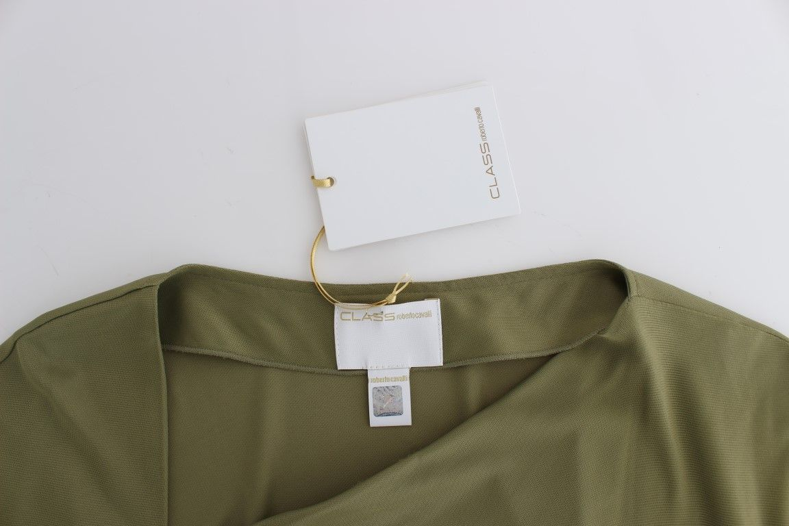 Cavalli Green blouse top