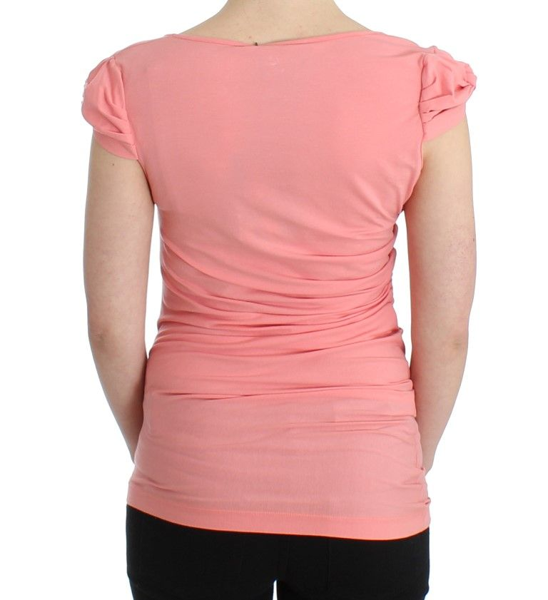 Cavalli Pink cotton top