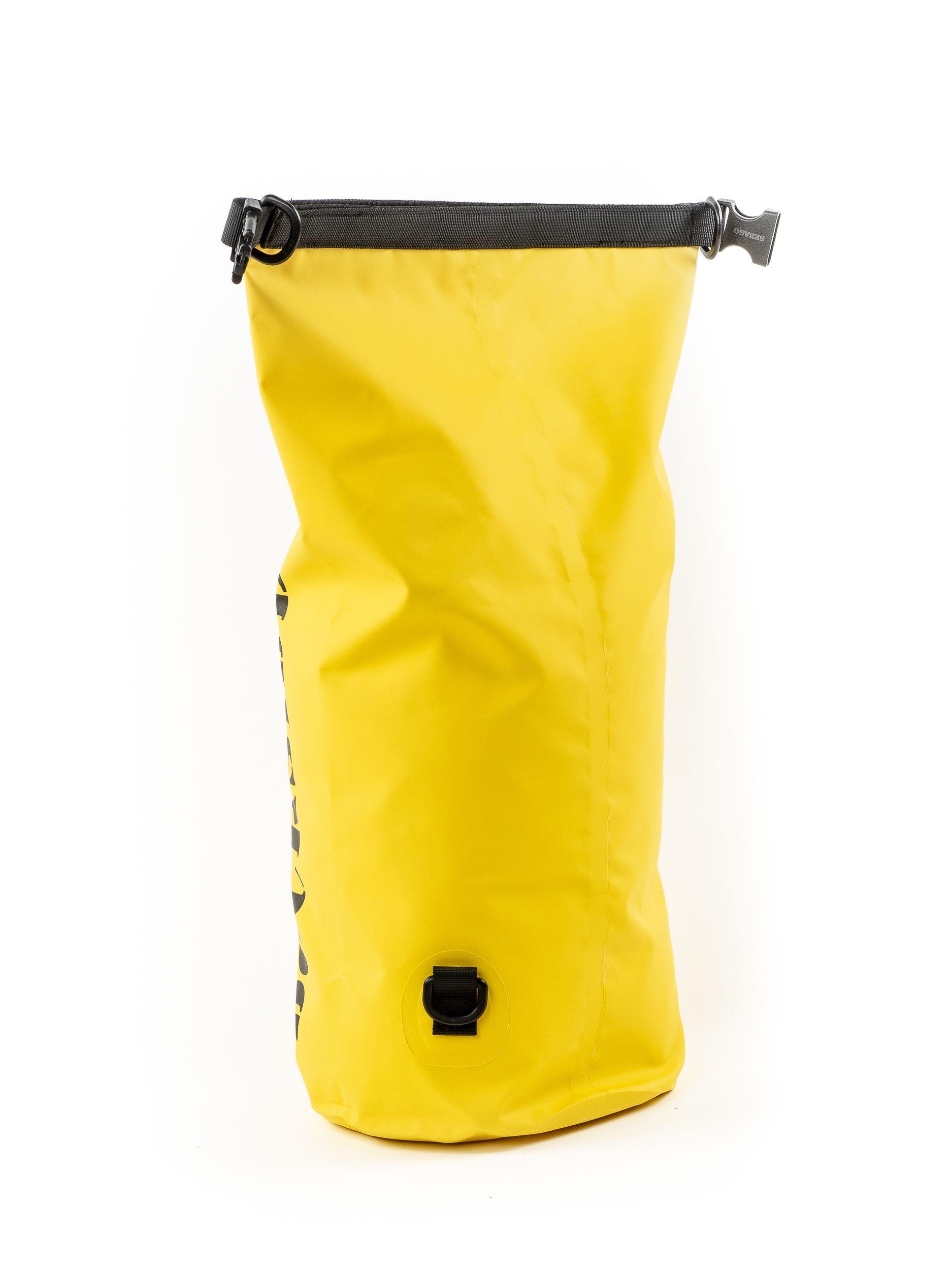 SEBAGO MEN'S 711137W109 YELLOW PVC BACKPACK