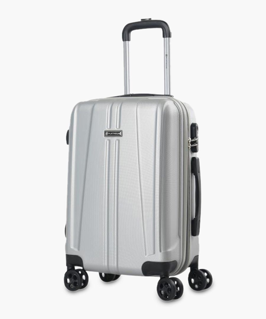 Rewa silver-tone suitcase