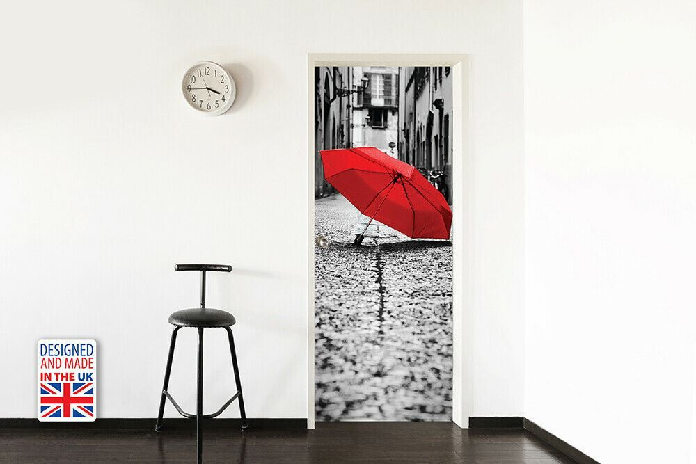 Colour Of Love Self-Adhesive Door Mural Sticker For All Europe Size 90Cm X 200Cm