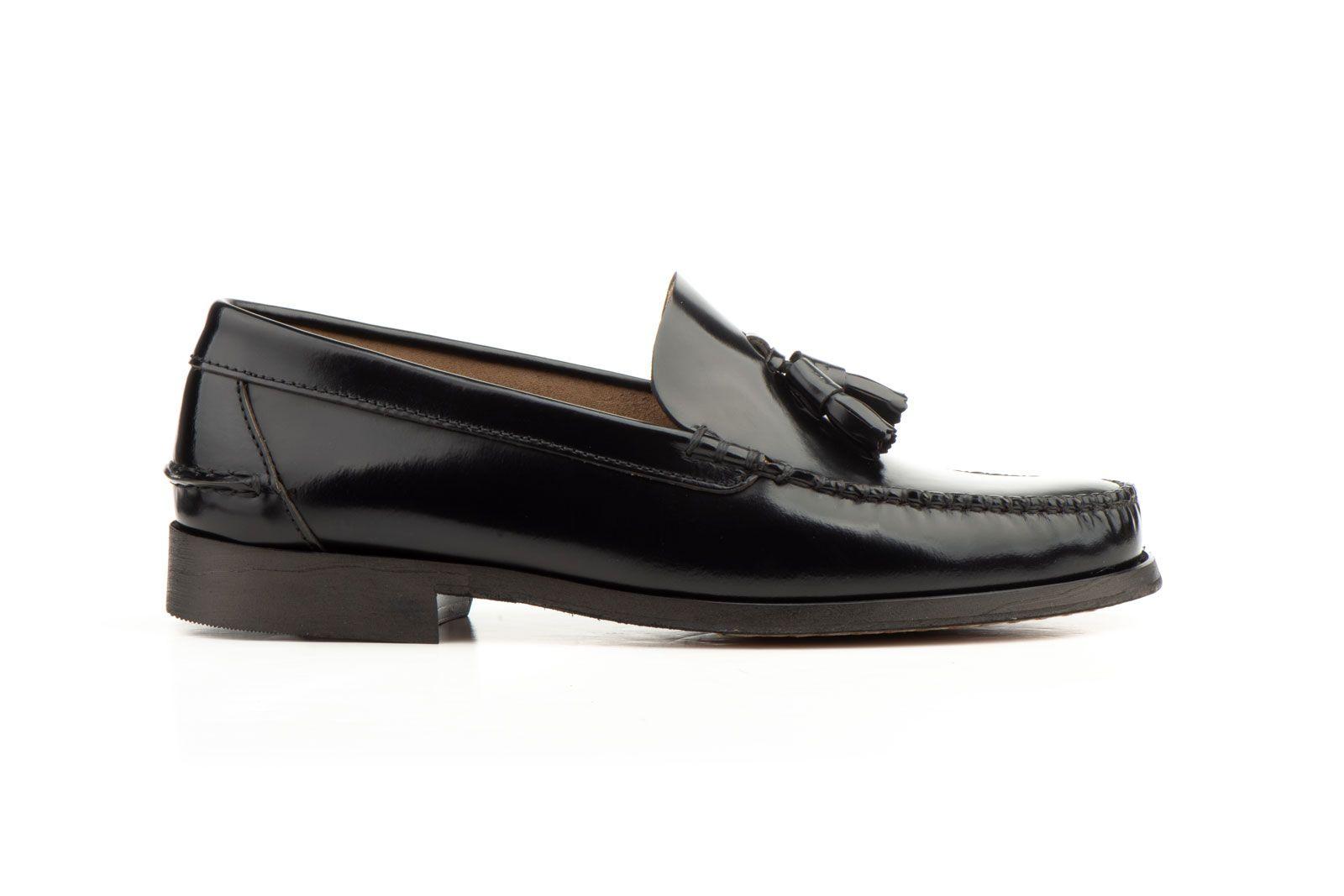 Purapiel Comfortable Loafer in Black