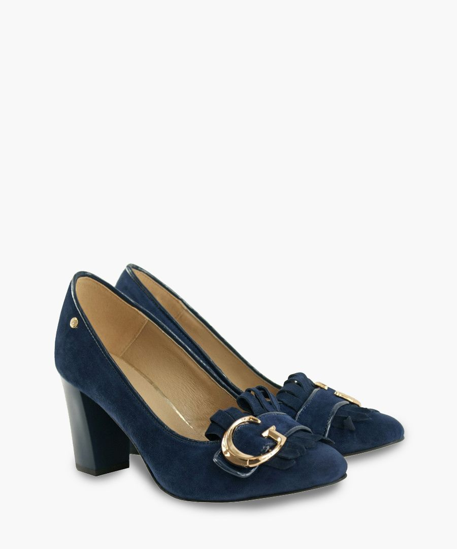 Navy blue courts