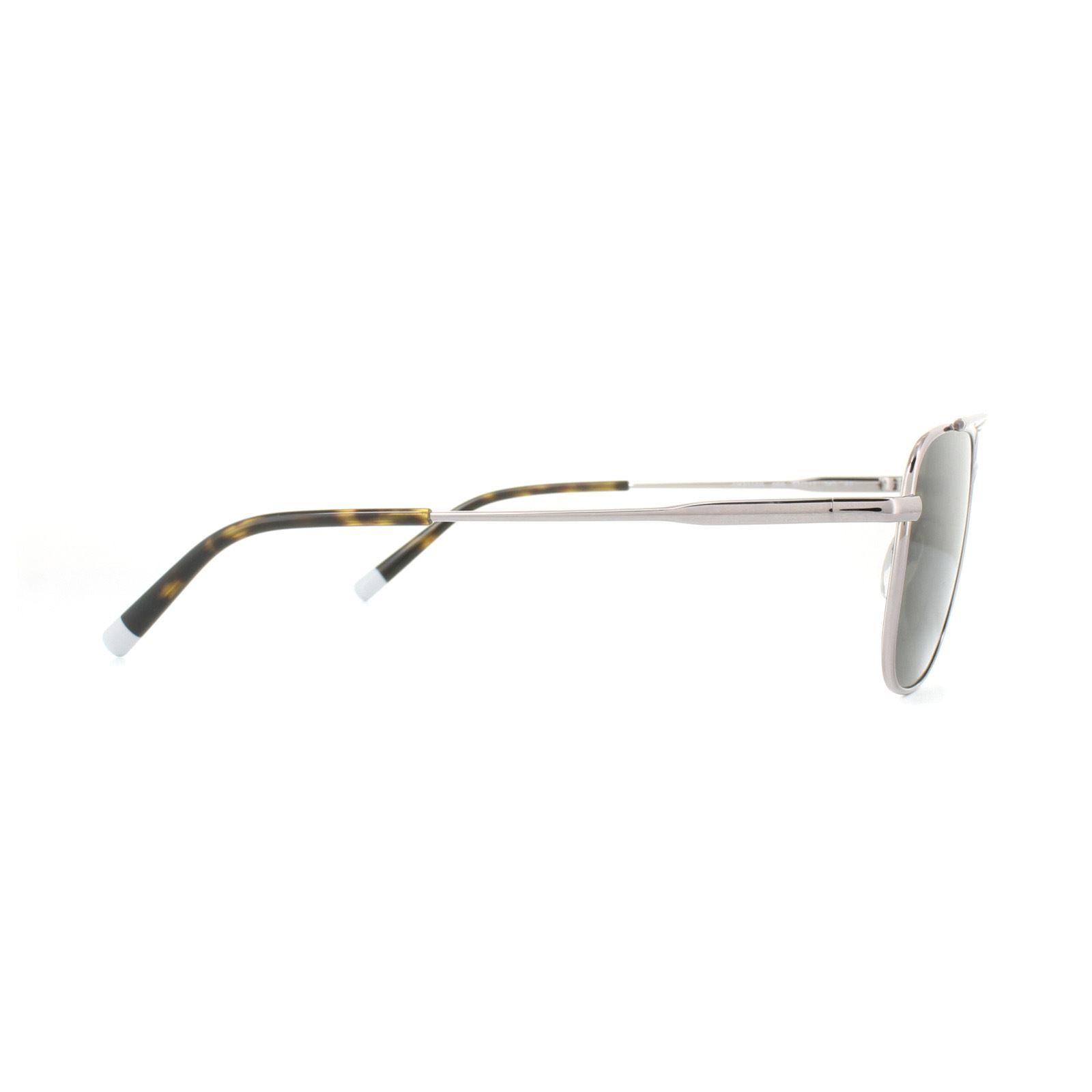Calvin Klein Sunglasses CK2150S 060 Gunmetal Silver Dark Green Gradient
