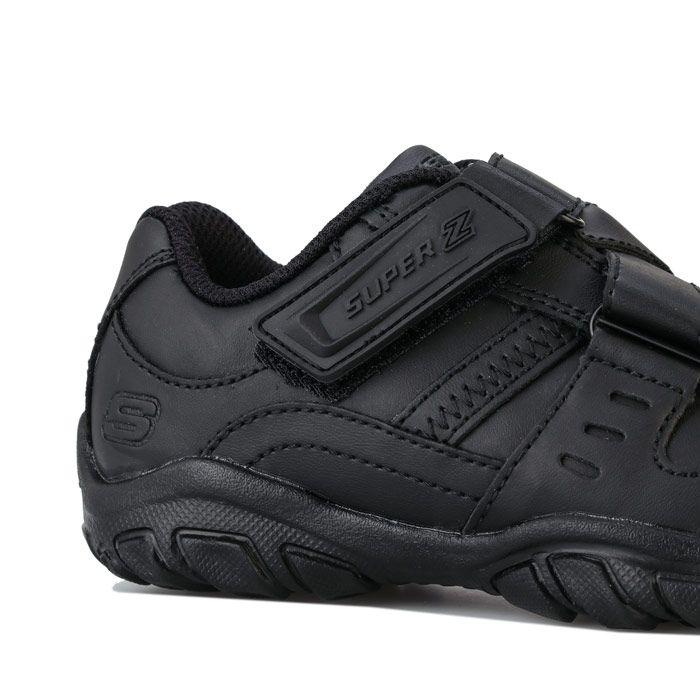 Boys' Skechers Children Grambler Zeem Trainers In Black