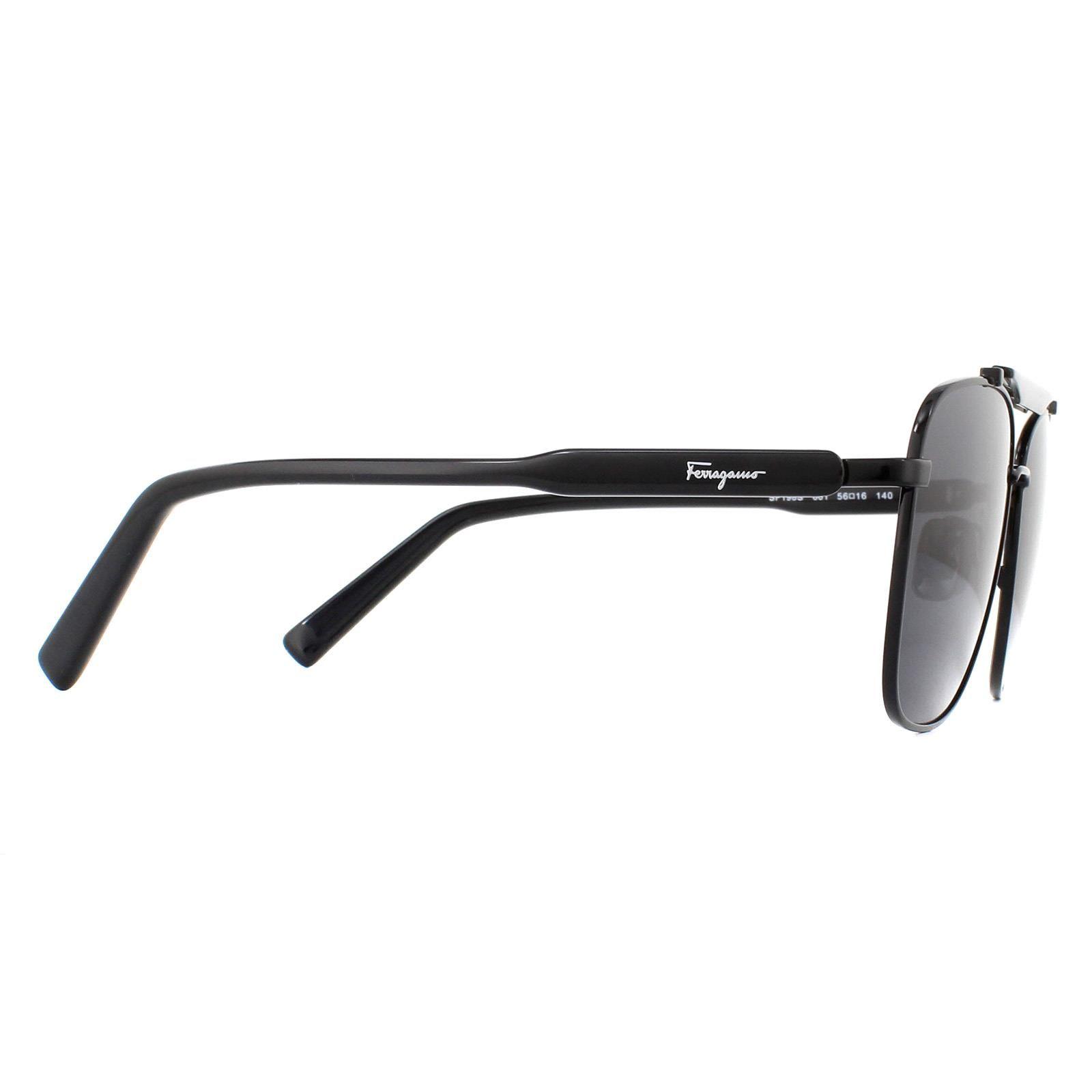 Salvatore Ferragamo Sunglasses SF198S 001 Black Grey