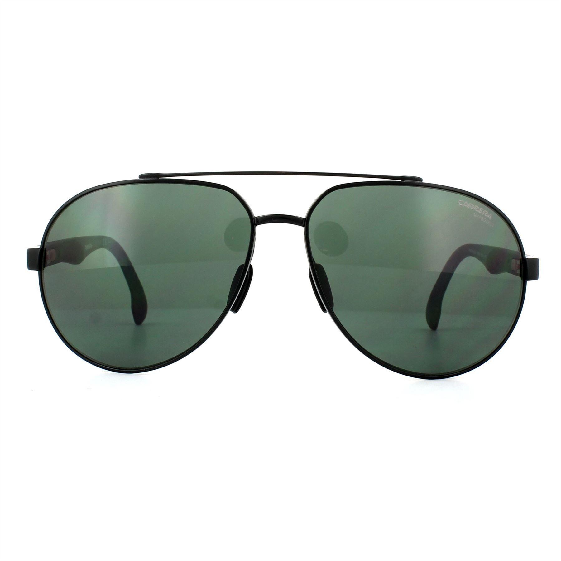 Carrera Sunglasses 8025/S O6W QT Black Green