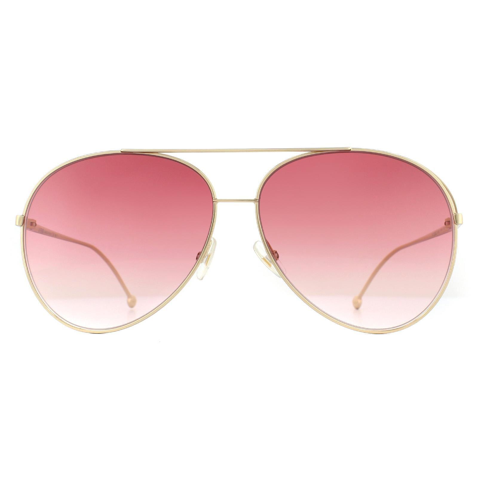 Fendi Sunglasses FF 0286/S 000 3X Rose Gold Pink Gradient
